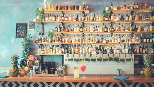 Rude Boy rum bar. Photo: Supplied