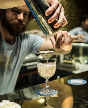 Gold Bar bartenders create bespoke cocktails to order. Photo: Supplied