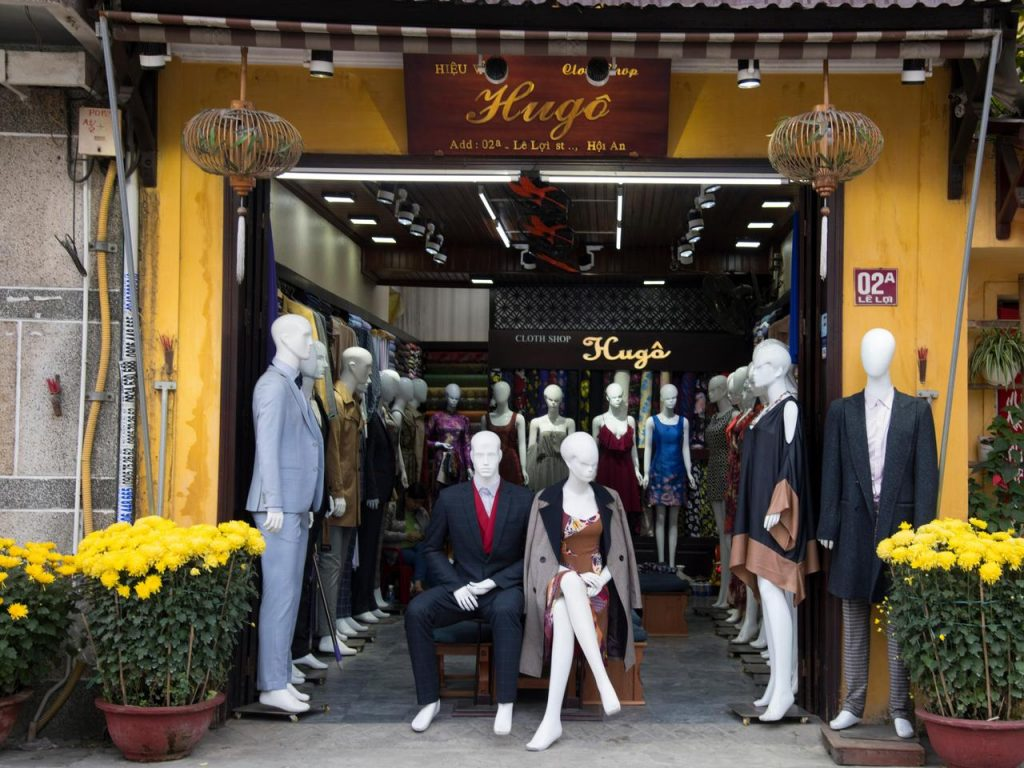 A tailoring shop in Hoi An, Vietnam. Picture: Alamy