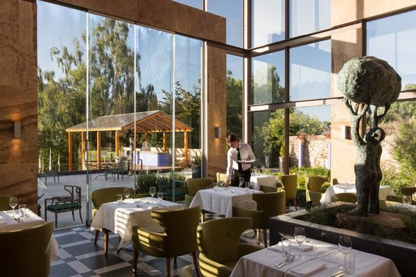 Dine at The Conservatory Restaurant within the hotel for an extra special view of Mount Wellington.