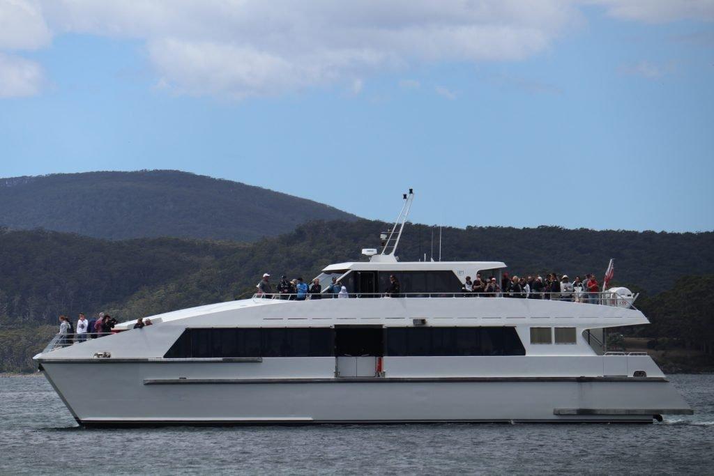 Go Wild Tasmania Port Arthur ferry