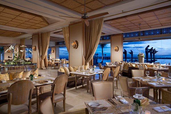 Soleil is the magnificent 230-seat restaurant where brunch is booked out weeks in advance.