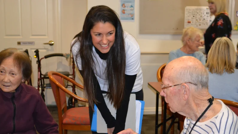 Danielle Stewart's company employs specially trained writers to work in residential care homes or with families, to help people record their life experiences.