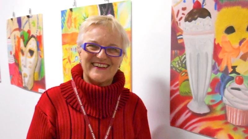 Arts educator draws culture into schools