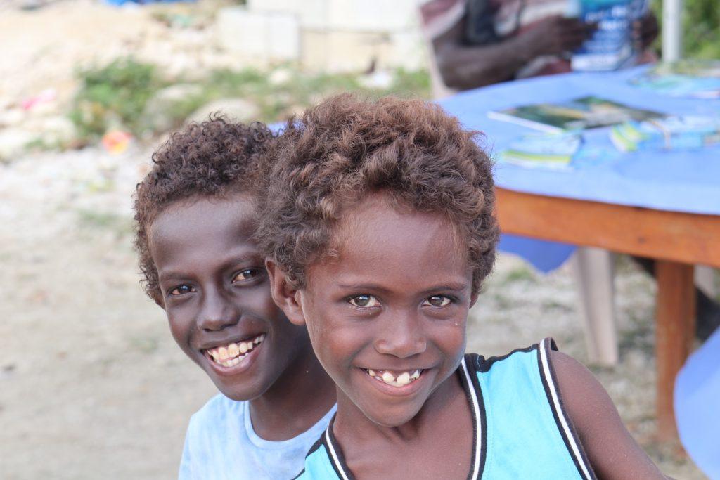 Why take kids to Solomons - local kids