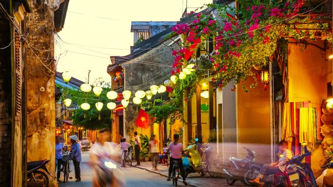 Hoi An is a popular spot among tourists wanting to get clothes made.