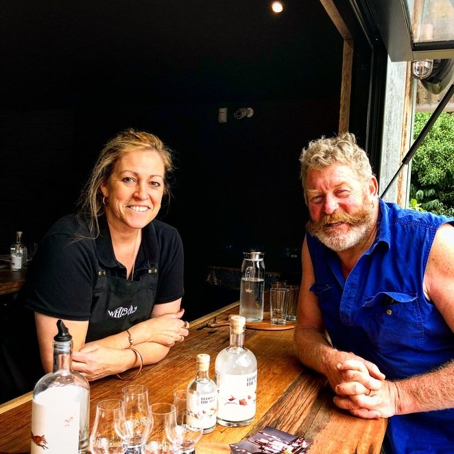 Russ and Lorelle at The Whiskery