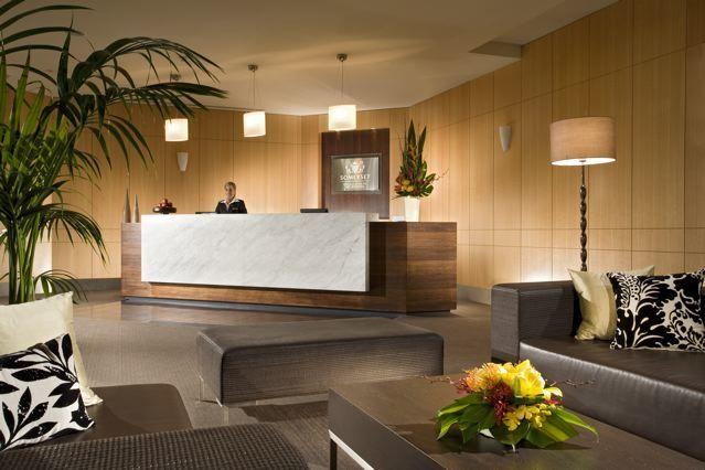 The Somerset lobby