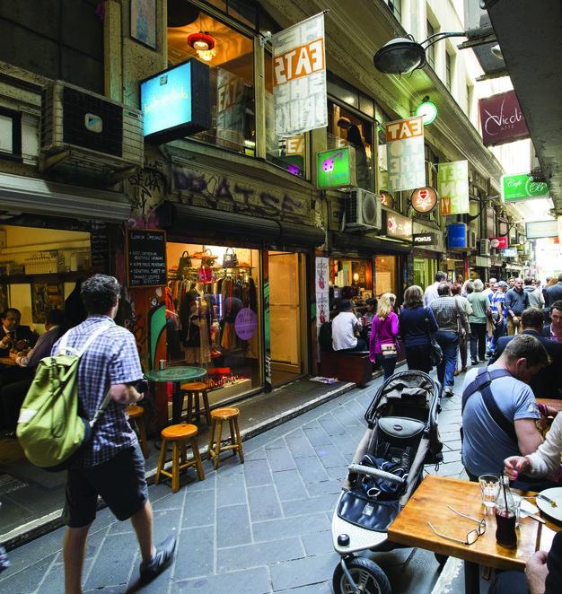 Melbourne's famous laneways