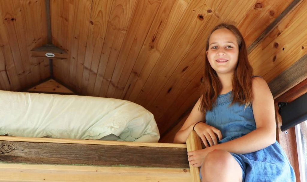 Trying on the cubby-house craze for size